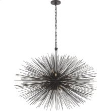 Visual Comfort KW5074AI Kelly Wearstler Strada 20 Light 38 inch Aged Iron Pendant Ceiling Light, Kelly Wearstler, Medium, Oval