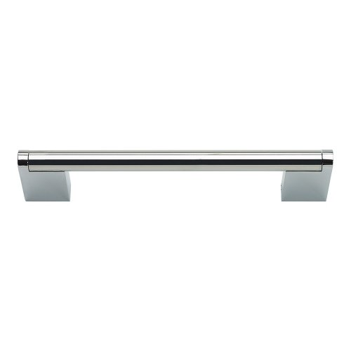 Round 3 Point Pull 5 1/16 Inch (c-c) - Polished Stainless Steel