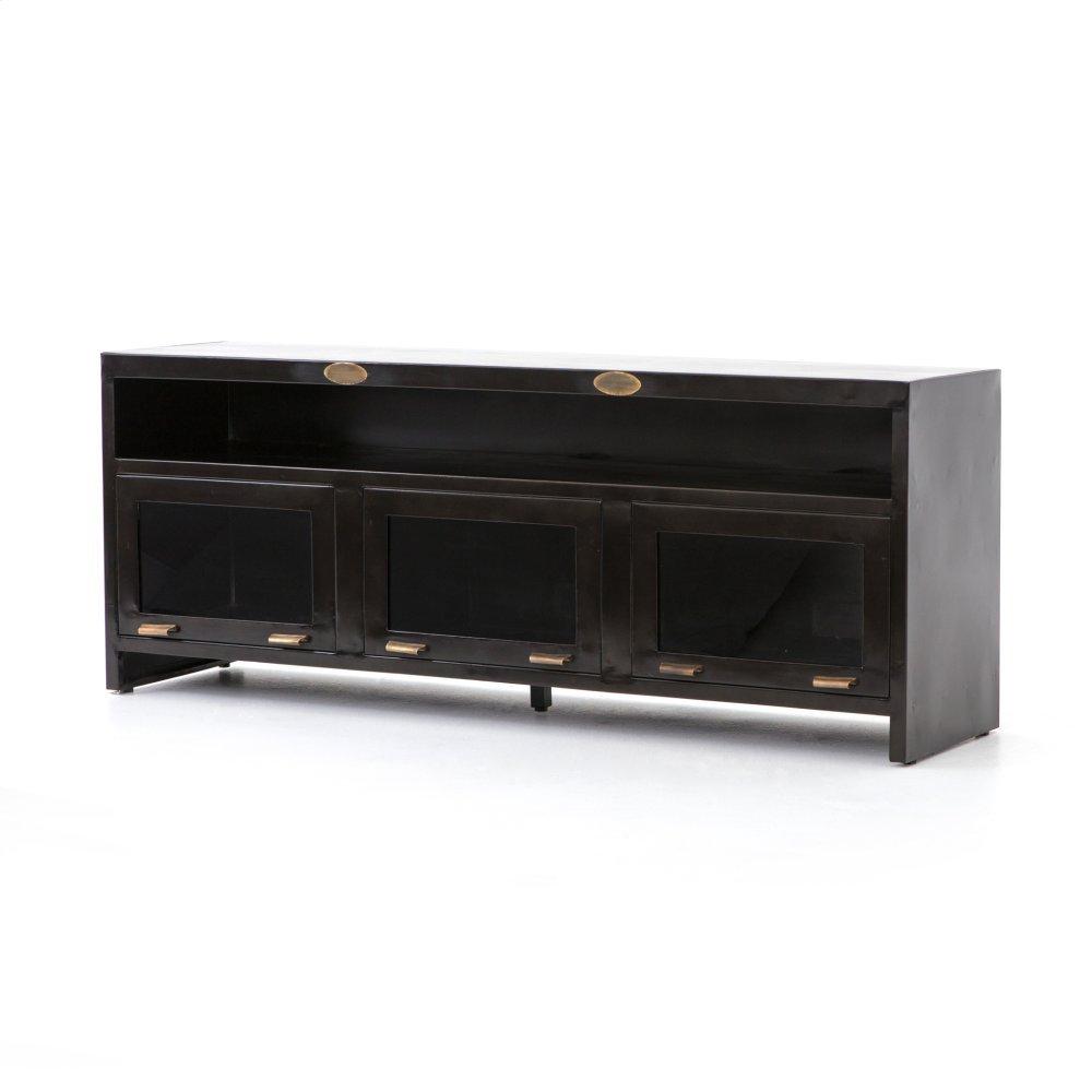 Rockwell 3 Door Media Cabinet-natural