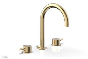 BASIC II Widespread Faucet 230-04 - Satin Brass