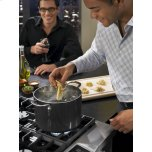 Kitchenaid 36'' 6-Burner Dual Fuel Freestanding Range, Commercial-Style - Stainless Steel
