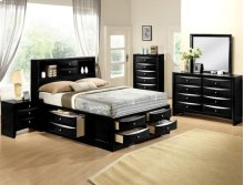Black Emily Dresser 8 Drawers