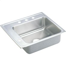 "Elkay Lustertone Classic Stainless Steel 22"" x 19-1/2"" x 5-1/2"", Single Bowl Drop-in Classroom ADA Sink"