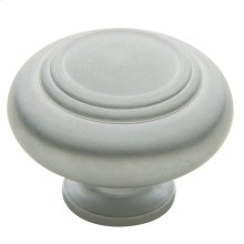 Satin Chrome Ring Deco Knob