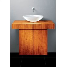 """T-Vanity Cabinet Only- 36"""" Wide"""