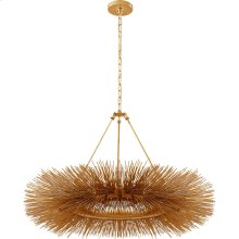 Visual Comfort KW5181G Kelly Wearstler Strada 16 Light 40 inch Gild Chandelier Ceiling Light