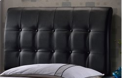 Lusso Full Headboard - Black Product Image