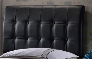 Lusso Full Headboard - Black