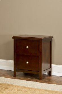Metro Nightstand - Cherry