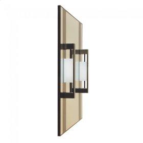 Custom Vanity Mirror Silicon Bronze Light