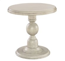 Homestead Pedestal End Table