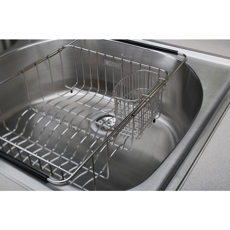 "Additional Elkay Stainless Steel 3-1/2"" x 5-1/8"" x 4-3/8"" Utensil Caddy"