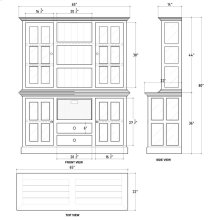 Cape Cod Kitchen Cabinet