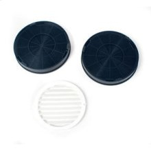 Range Hood Recirculation Kit / Replacement Charcoal Filter (2-Pack)