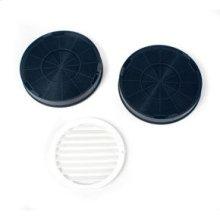 Range Hood Recirculation Kit / Replacement Charcoal Filter (2-Pack)