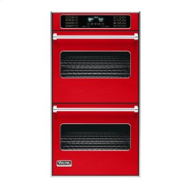 "Racing Red 27"" Double Electric Touch Control Premiere Oven - VEDO (27"" Wide Double Electric Touch Control Premiere Oven)"