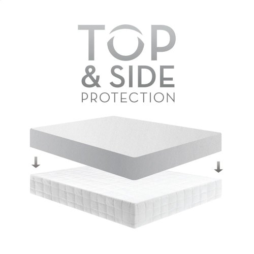 RED HOT BUY- BE HAPPY ! Five 5ided Mattress Protector with Tencel   Omniphase - Cal King