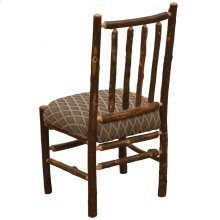 Spoke Side Chair - Natural Hickory - Standard Fabric