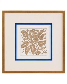 Dyann Gunter's Blue Gold Floral IV