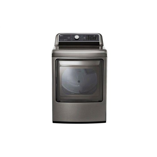 7.3 cu. ft. Smart wi-fi Enabled Gas Dryer with Sensor Dry Technology