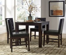 Square Dining Table - Dark Chocolate Finish