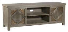 Bayshore Entertainment Unit - Distressed Graywash