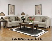 Soprano/Radical Pepperco 5600S - Sofa Product Image