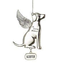 Memorial Dog Ornament.