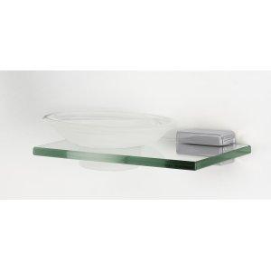 Cube Soap Holder A6530 - Polished Chrome