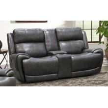 Spencer Satellite Power Console Loveseat