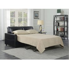 Emerald Home Slumber Full Sleeper W/gel Foam Mattress Black U3215-46-16