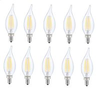 LED E12 CANDELABRA, FLAME TIP, 3000K, 300, CRI80, ES, UL, 6W, 40W EQUIVALENT, 15000HRS, LM480, DIMMABLE, 2 YEARS WARRANTY, INPUT VOLTAGE 120V