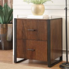 Terra Vista - File Cabinet - Casual Walnut Finish