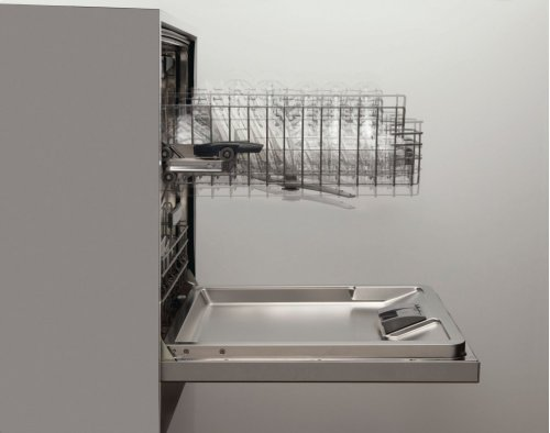 """24"""" Recessed Handle Dishwasher 800 Series- White SHE68T52UC"""