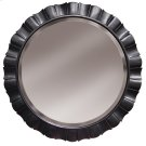Round Petal Mirror - Blk Product Image