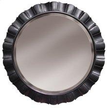 Round Petal Mirror - Blk