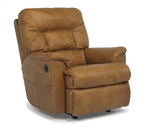 Great Escape Leather or Fabric Power Recliner