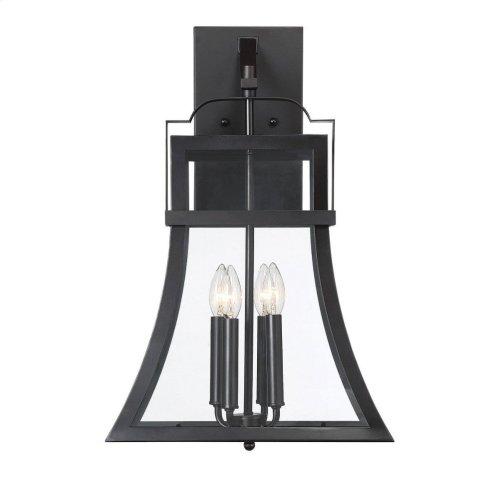 "Avon 4 Light 23"" Exterior Wall Lantern"