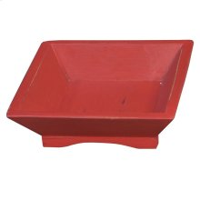 Bramble Fruit Tray Square - Red Distressed