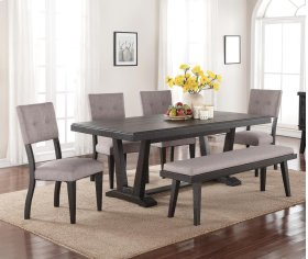 7 PC Dining - Dining Table and 6 Chairs