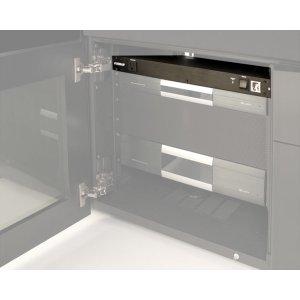 Salamander DesignsMulti-port rack mounted Furnam M-8X2 Power Distribution Unit with surge protection.