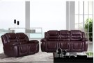 Bonded Black Leather Love Seat Console Product Image