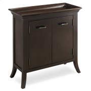 Traditional Cherry Tray Edge Foyer Cabinet #10129 Product Image