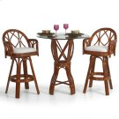 6800 Series 3 Piece Bar or Counter Height Pub Set Product Image