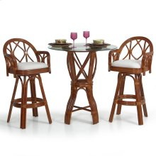 6800 Series 3 Piece Bar or Counter Height Pub Set