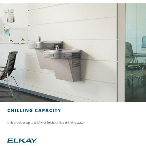 Elkay Cooler Wall Mount ADA Non-Filtered, 8 GPH Light Gray Granite