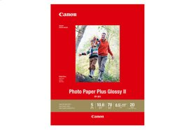 Canon Photo Paper Plus Glossy II - PP-301 - LTR (20 Sheets) Photo Paper Plus Glossy II