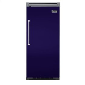 "Cobalt Blue 36"" Quiet Cool™ All Freezer - VIFB Tru-Flush™ (Right Hinge Door)"