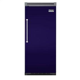 "Cobalt Blue 36"" Quiet Cool™ All Freezer - VIFB Tru-Flush™ (Right Hinge Door)"