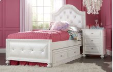 Madison Upholstered Bed Twin